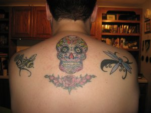 upper back ink