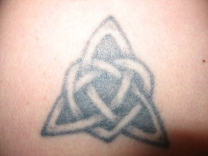 second tat, upper right arm, done in 2001