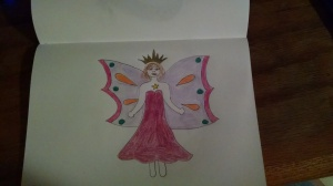 because I wanted to draw a fairy that didn't look like shit (ignore the hands and feet)